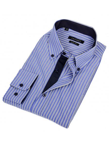 Мужская классическая рубашка LAVISHY LA304001_LAV