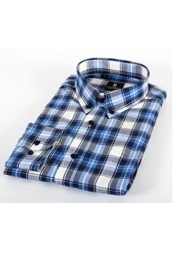 Мужская классическая рубашка LAVISHY LA604001_LAV