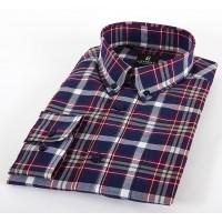 Мужская классическая рубашка LAVISHY LA605001_LAV