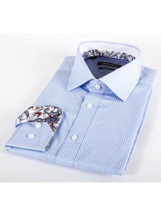 Мужская классическая рубашка LAVISHY LA203001_LAV