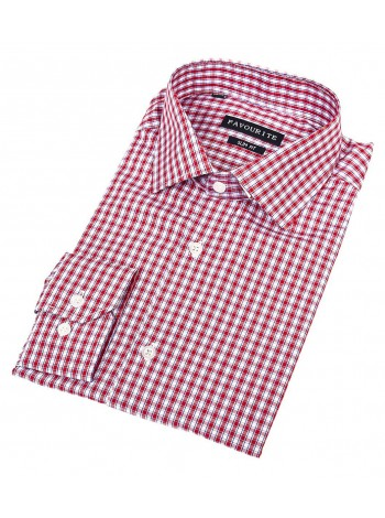 Мужская приталенная рубашка Favourite R511010_FAV